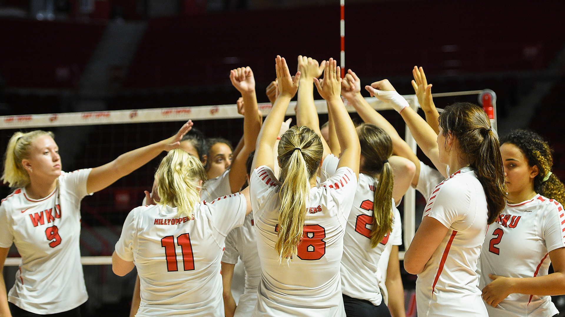 Wku Volleyball Headed To Lexington For Exhibition Against No 7 Kentucky Western Kentucky University Athletics
